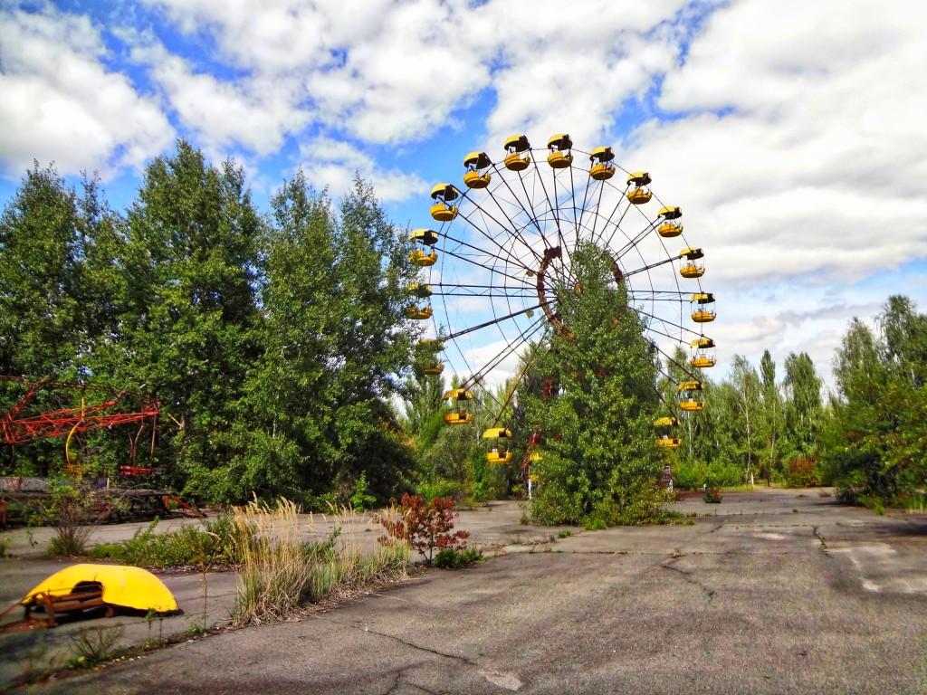 Ferris Wheel Chernobyl, Ukraine