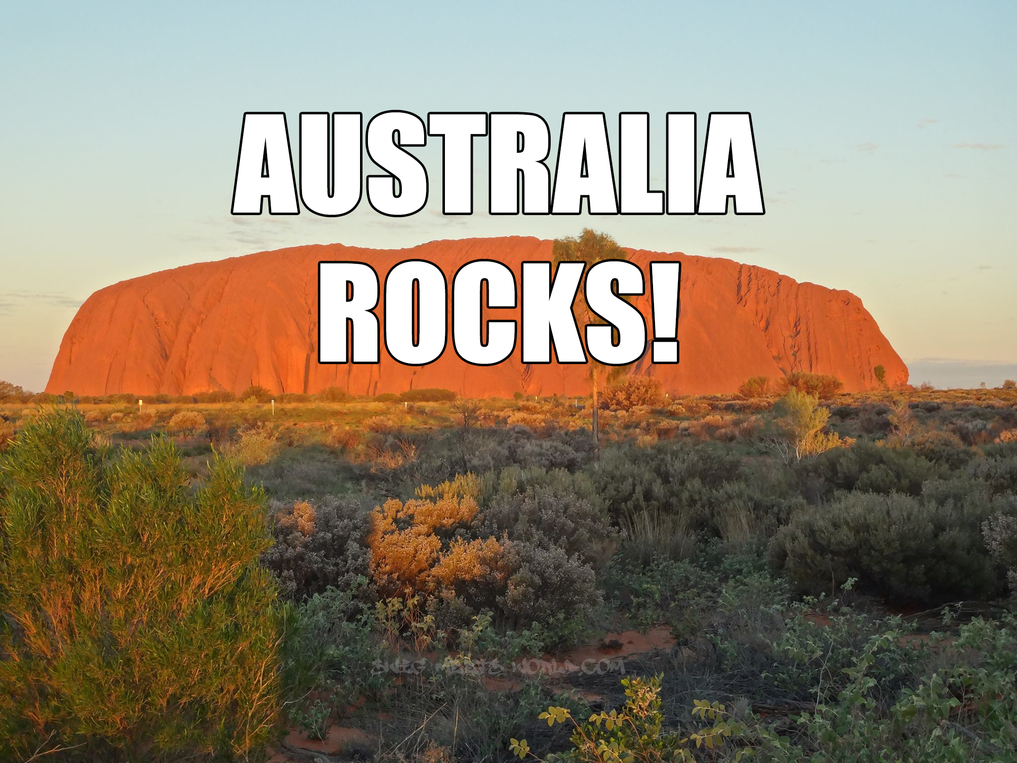 Uluru (Ayers Rock) - Lessons - Tes Teach