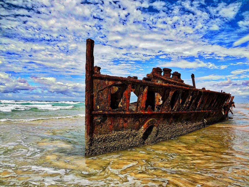 Fraser Island, Australia SS Maheno