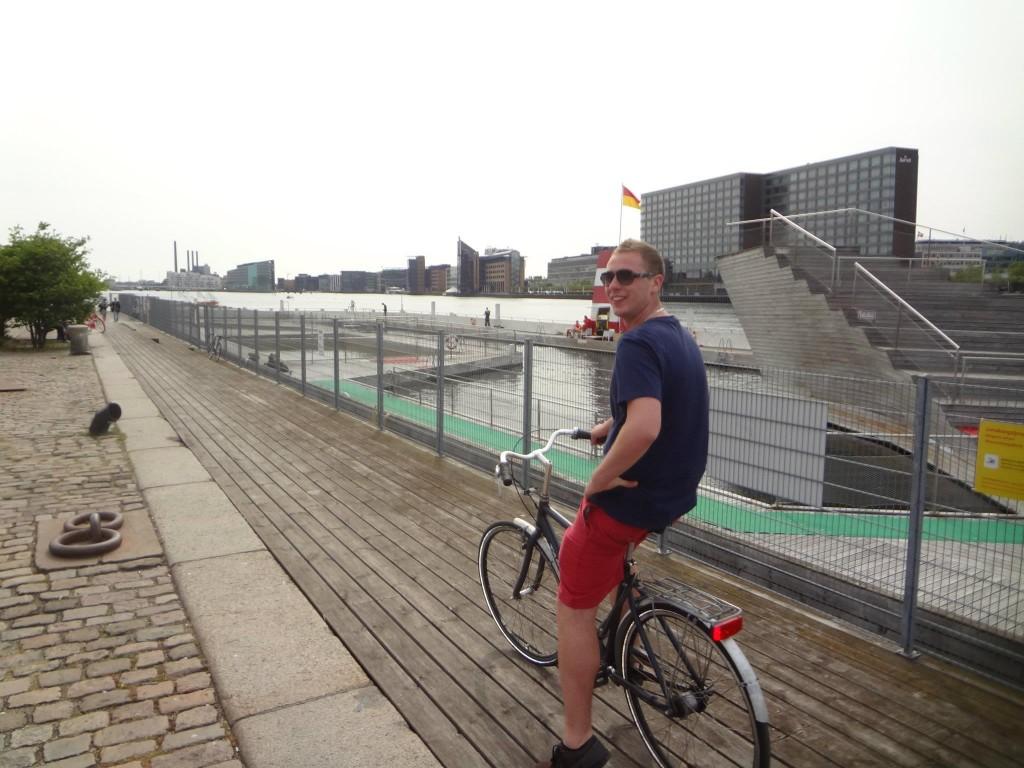 Bike Riding in Copenhagen, Denmark