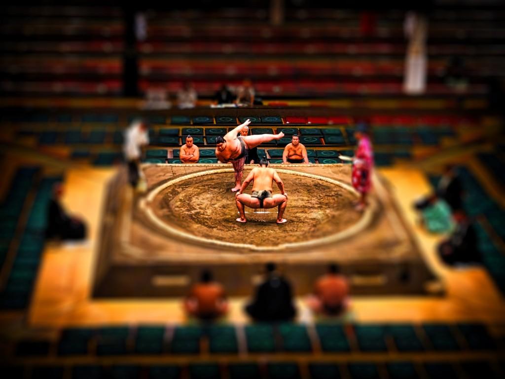 Sumo Wrestling Tokyo, Japan