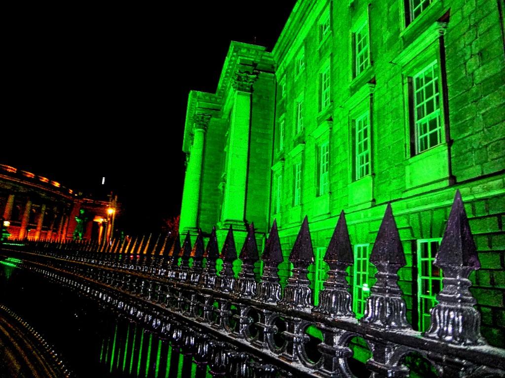 Trinity College Dublin Green