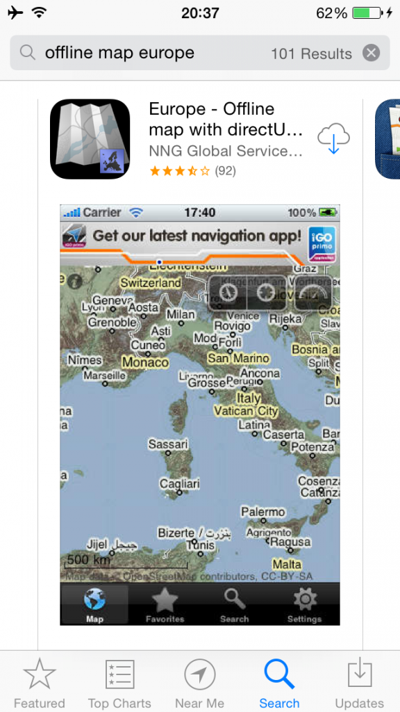 Offline Maps Travel Hack