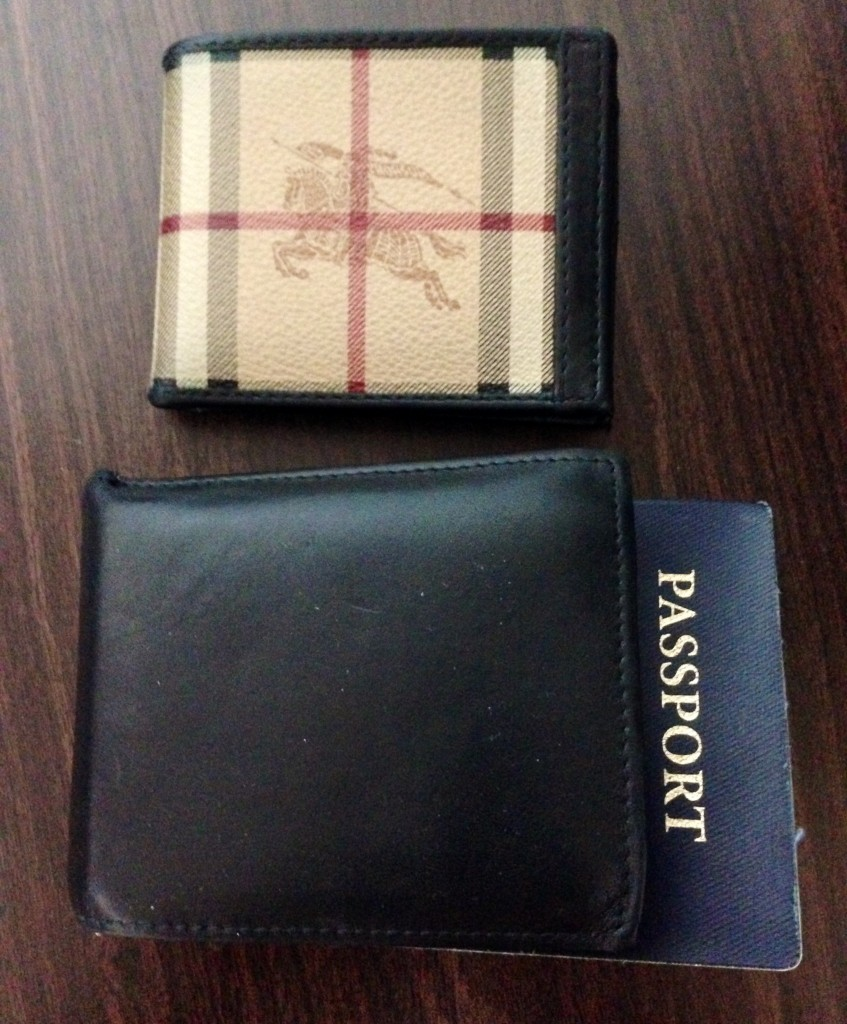 Burberry Wallet Travel Hack
