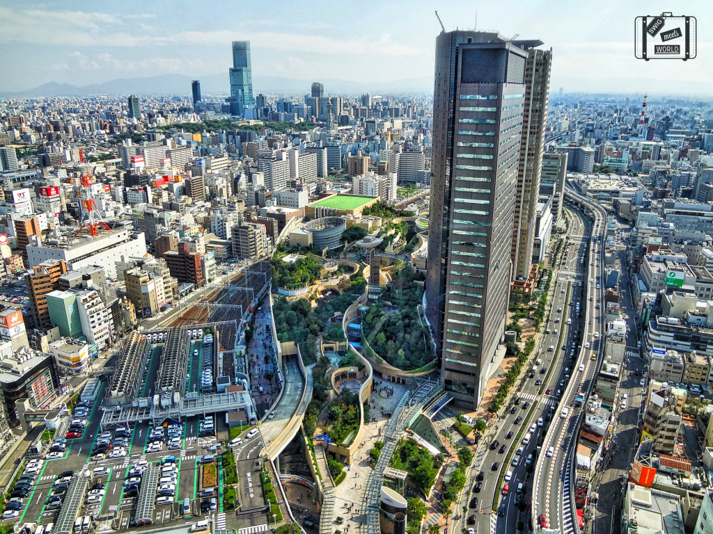 Namba Park Osaka Skyview