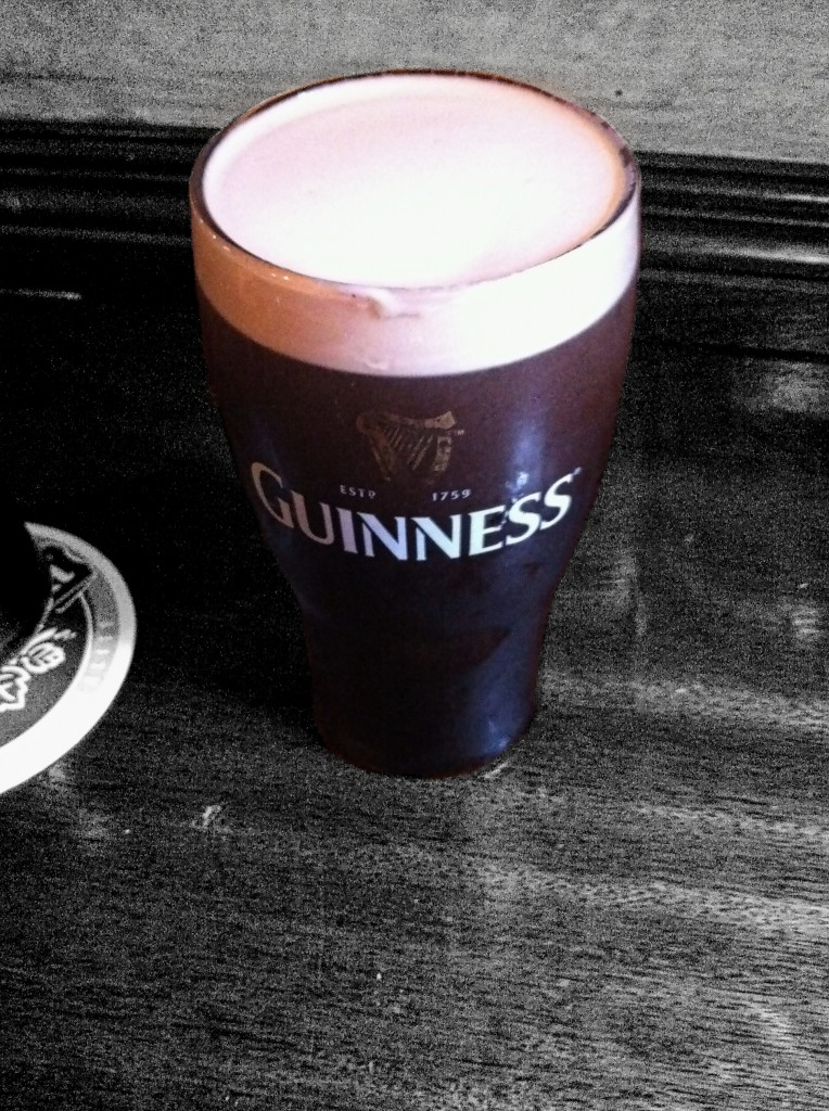 Black and White Guiness