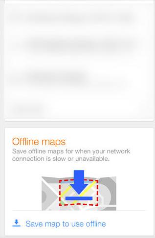 load offline maps google