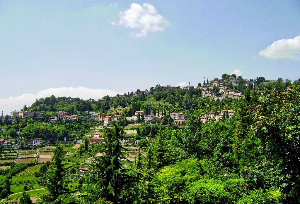 Bergamo Italy View