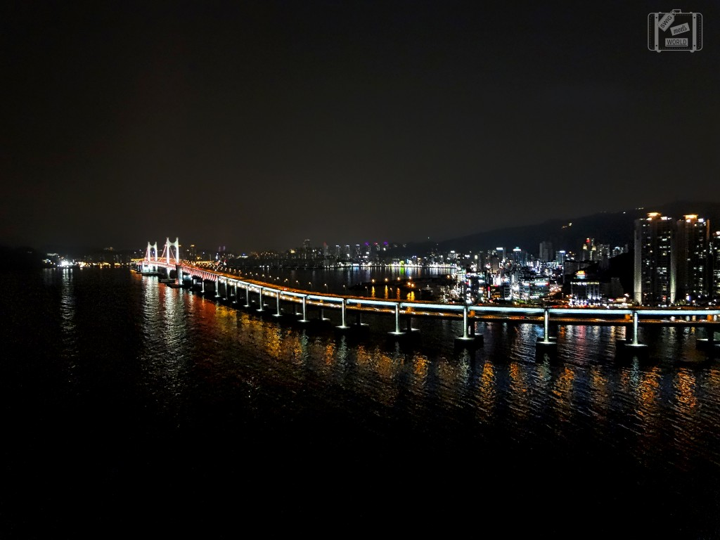 Gwangan Bridge Busan night