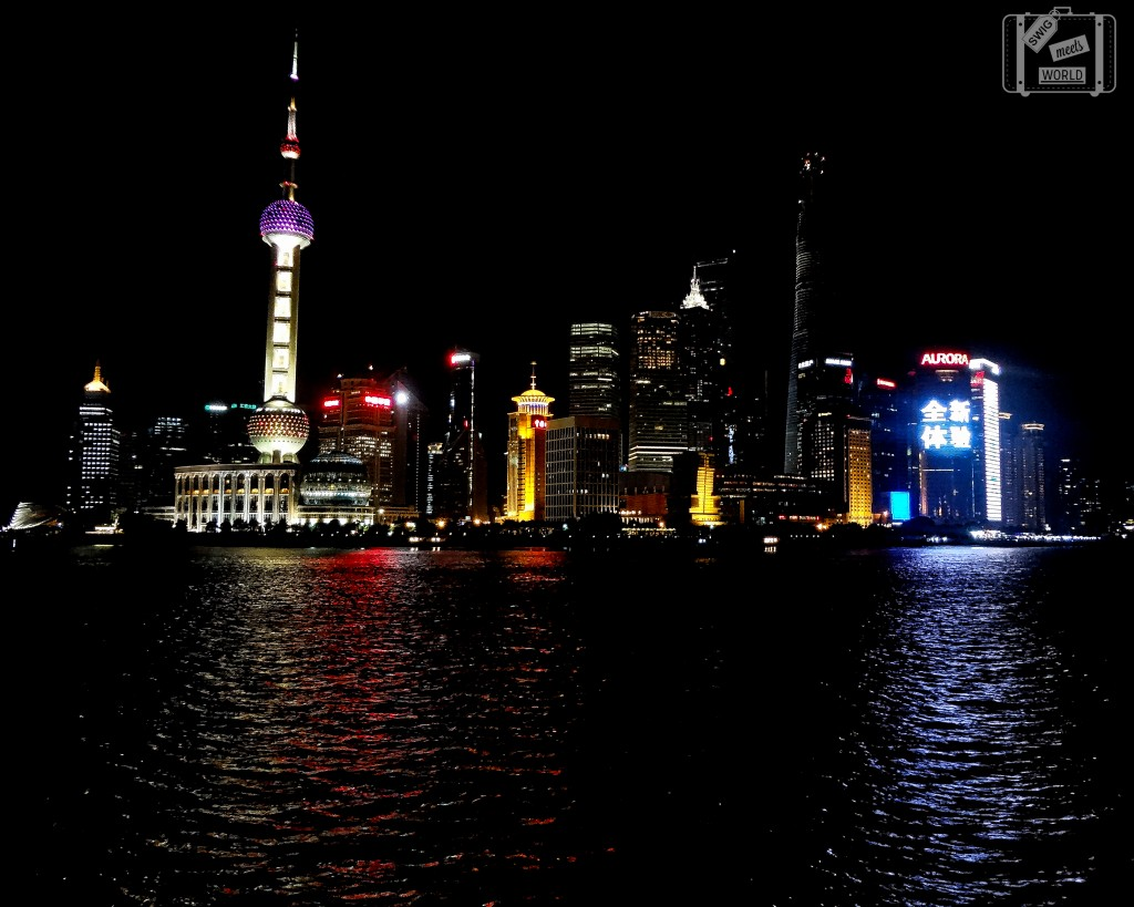 Shanghai Skyline The Bund