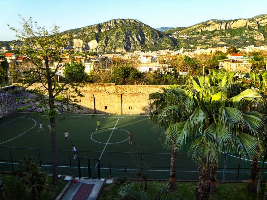Sorrento Hostel Soccer Field