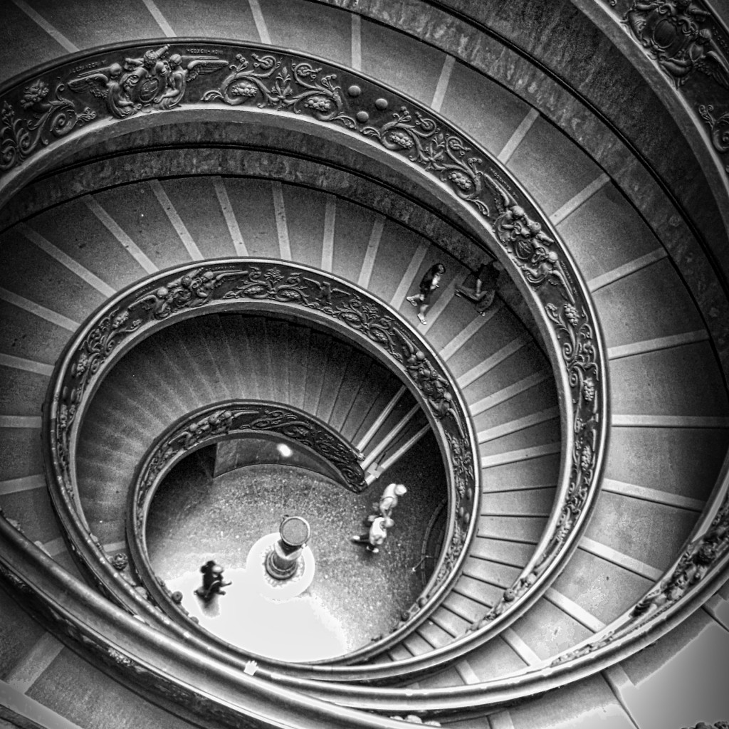 Vatican Museum Spiral Staircase Rome