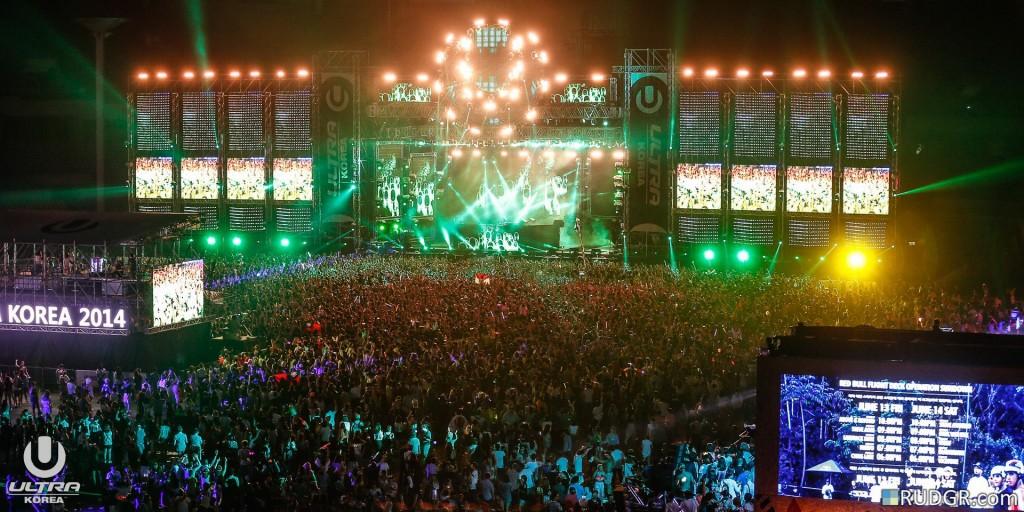 Ultra Music Festival Korea 2014