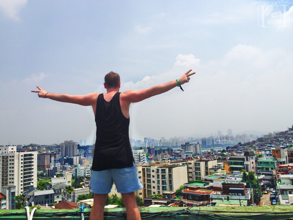 Top of IS@K Hostel Itaewon, Seoul