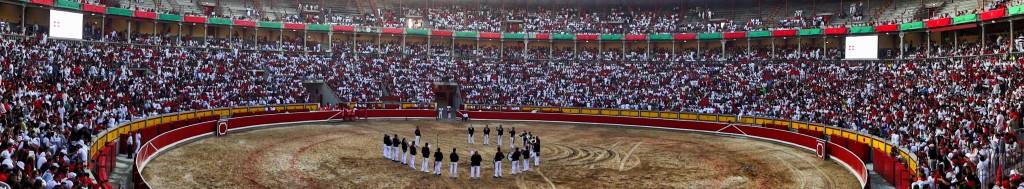Pamplona Bull Ring San Fermin