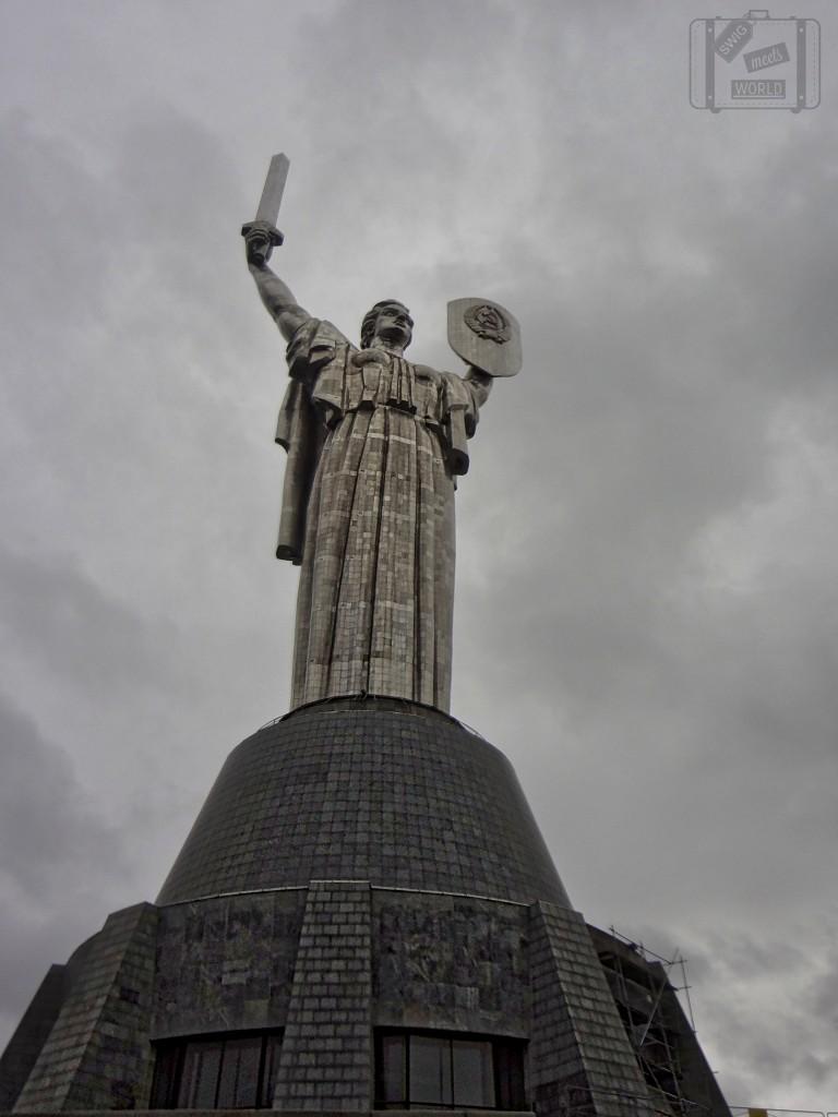 Kiev Ukraine Statue Motherland