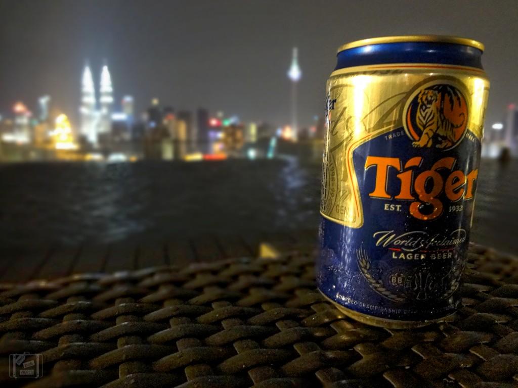 infinity pool tiger beer kuala lumpur