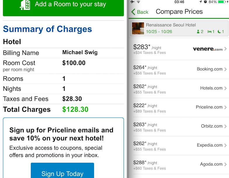 Bidding For Hotel Rooms On Priceline