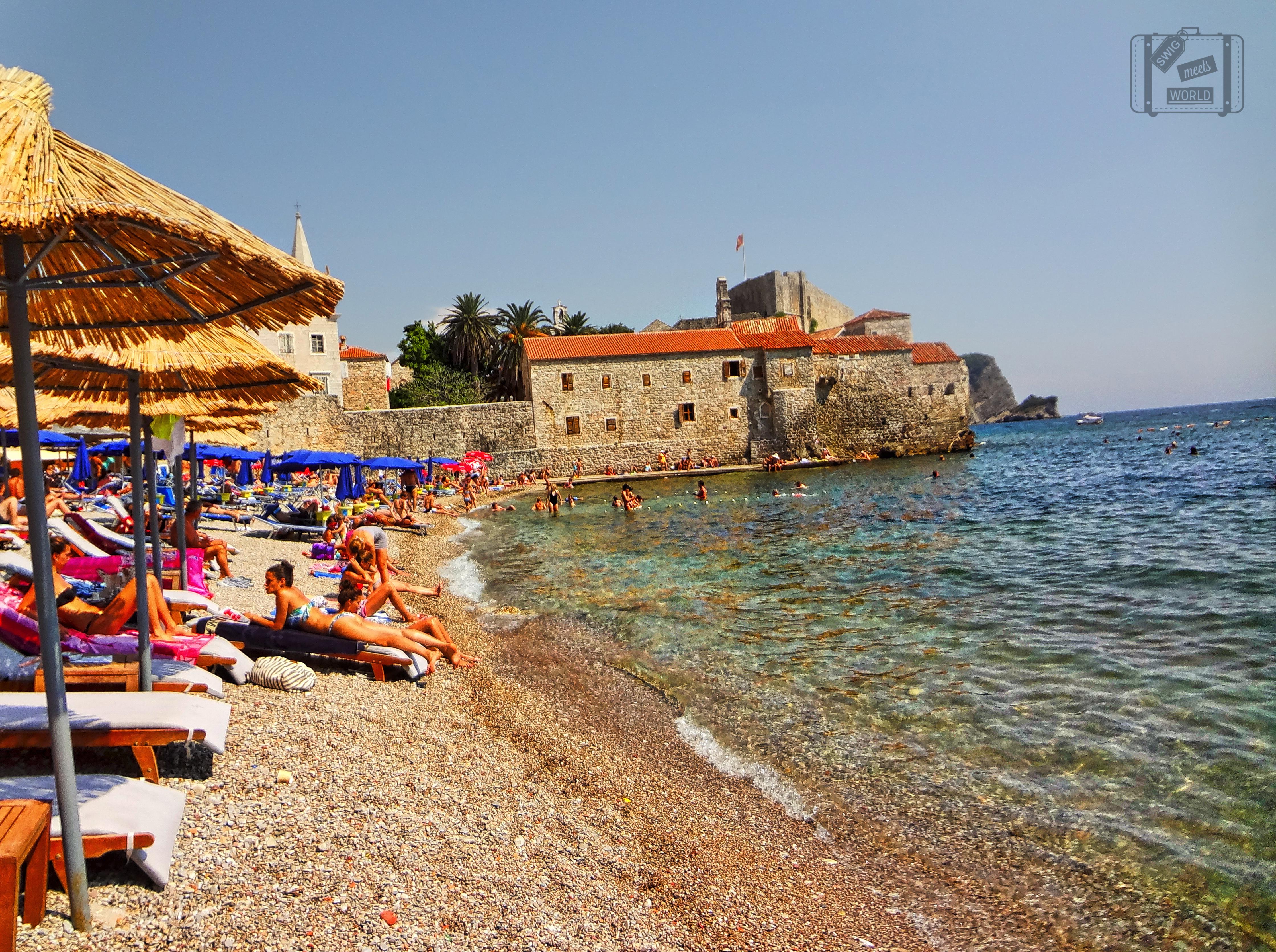 Budva Montenegro  City new picture : Budva Montenegro beach