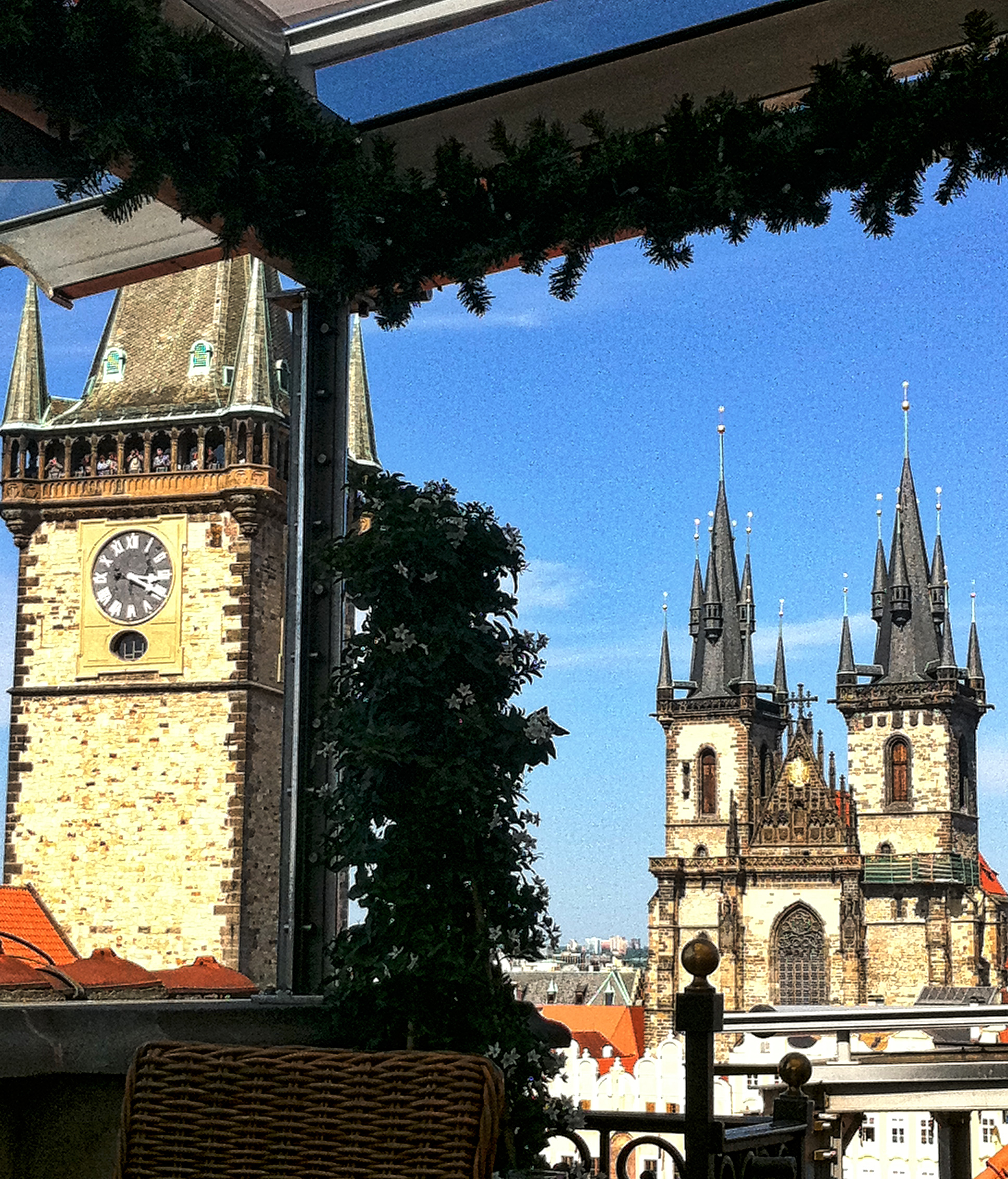 Prague travel guide food nightlife for Terrace u prince prague