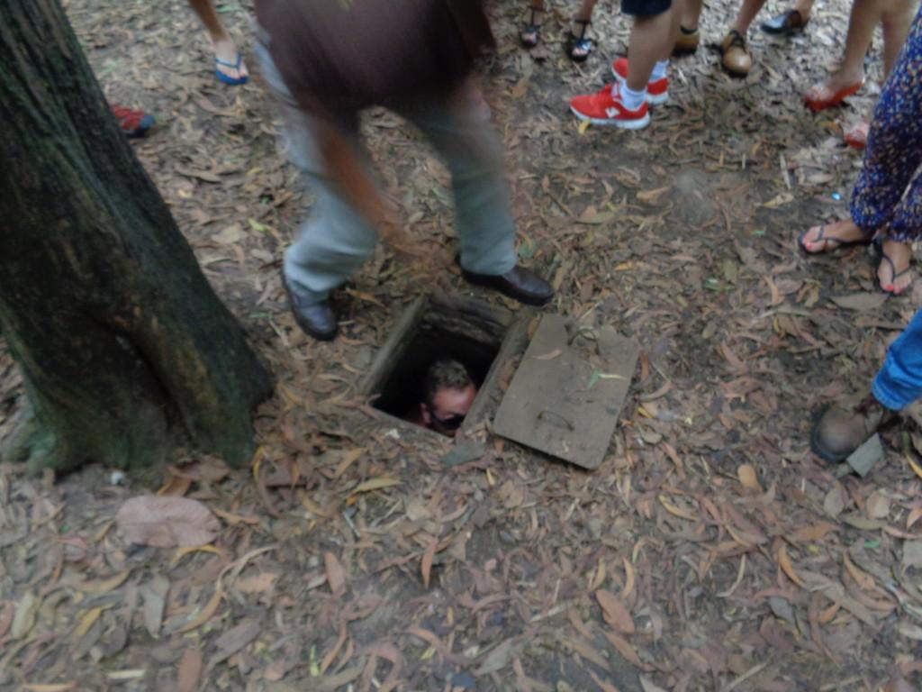 Sniper hole Vietnam