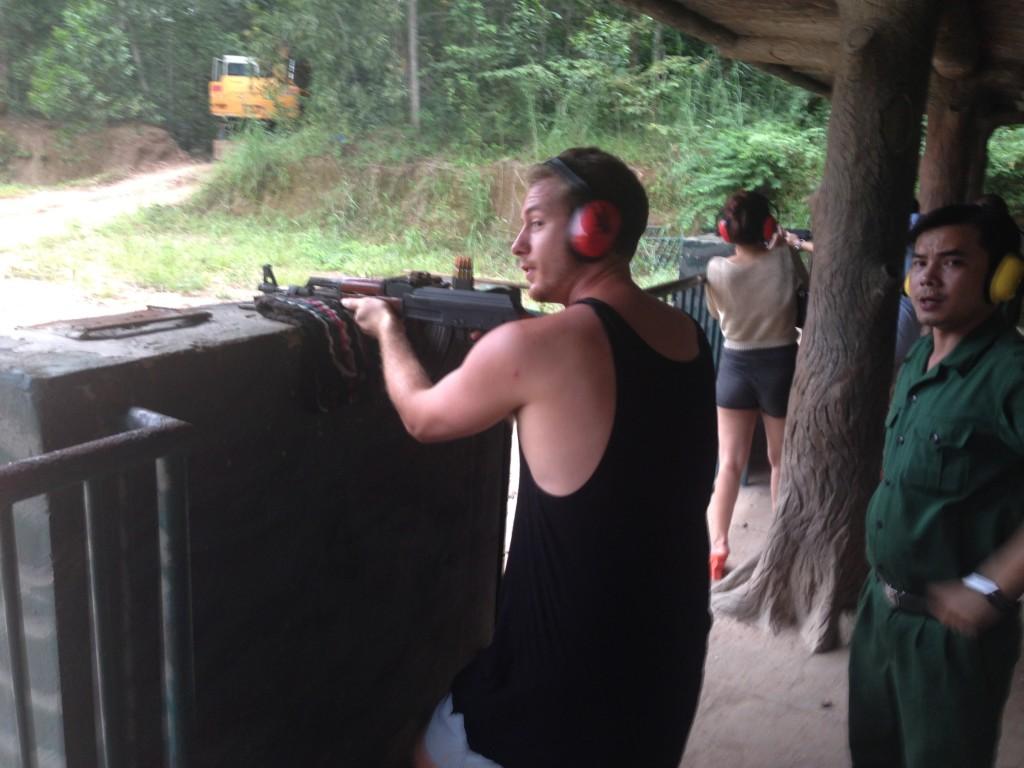 AK-47 Cu Chi Vietnam