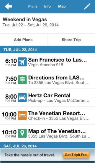 Best travel app trip