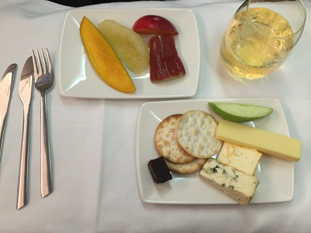 Cheese Platter Airline food