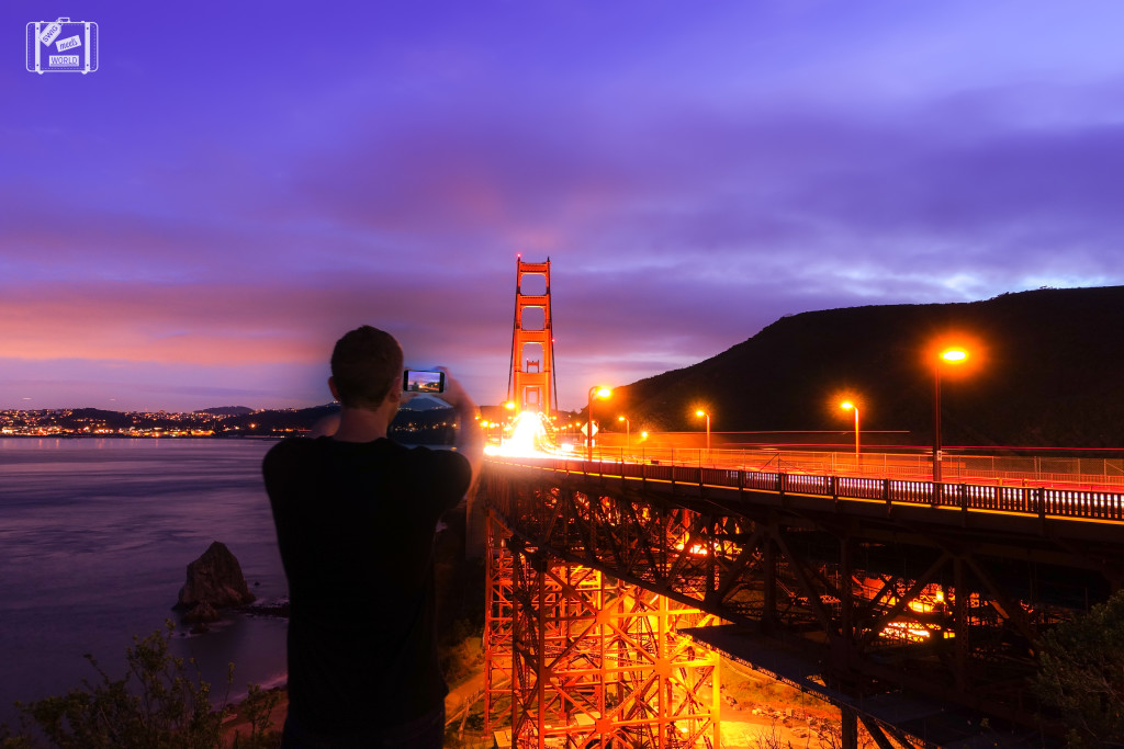 Golden-Gate-bridge sunset