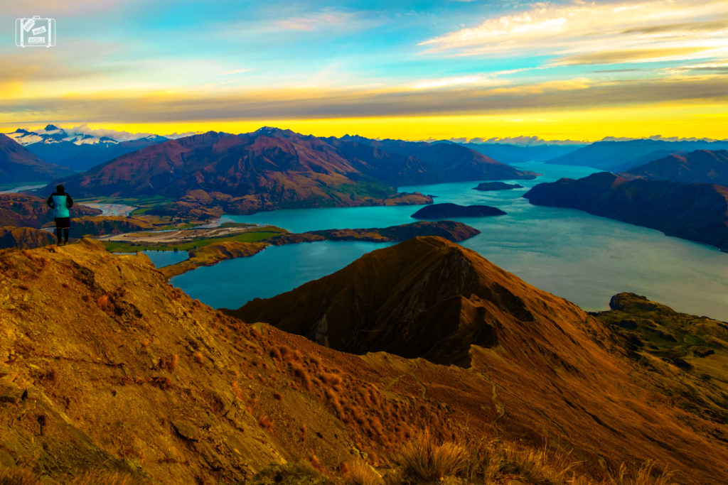 Roys Peak Sunrise New Zealand