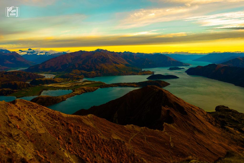 Roys Peak Sunrise New Zealand
